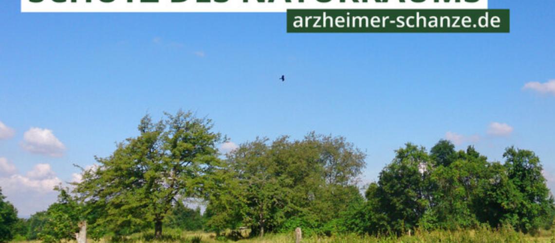 Wahrung des Naturraums _Arzheimer Schanze_ in Koblenz - Online petition